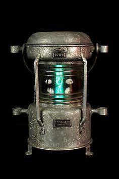 Epic Ancien fanal lanterne de bateau electrifi Decoration lampe marine loft bar
