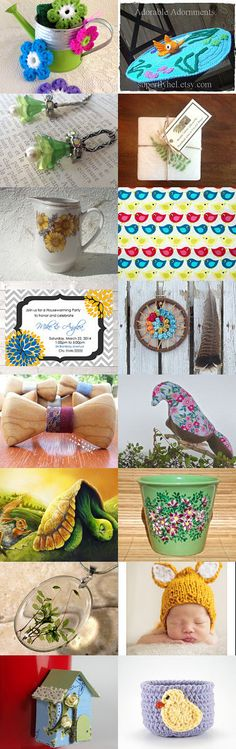 Welcome Spring! by Gloria on Etsy--Pinned with TreasuryPin.com