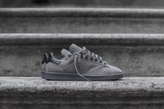 2667002f0e5d27 adidas Originals  Stan Smith Arrives in New All-Grey Colorway (Highsnobiety)