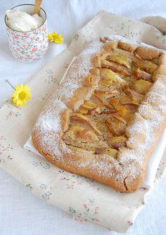 Gingerbread Pear Tart / Torta de pêra e gingerbread by Patricia Scarpin