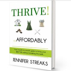 Creative Expressions: Book Spotlight on Jennifer Streaks and Thrive!...A...