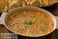 Baked Pimento Cheese Dip {Tex-Mex Style}: SO addicting and so, so good!