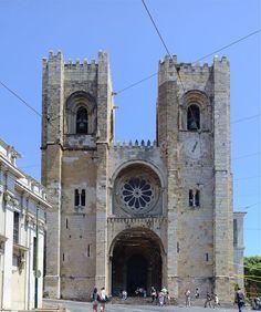 Atracções turísticas e Notificações em Portugal , Sé de Lisboa