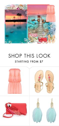 """""""For the wonderful Sarah!"""" by asia-12 ❤ liked on Polyvore featuring Melissa Odabash, Lilly Pulitzer, Kate Spade and Ray-Ban"""