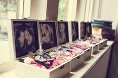 A thoughtful treasure box gift idea for the girls! Featured Photo: Jen Marino Photography via Whimsical Wonderland Weddings
