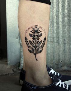 ornamental flower tattoo by David Hale - Design of TattoosDesign of Tattoos - o. - ornamental flower tattoo by David Hale – Design of TattoosDesign of Tattoos – ornamental flowe - Subtle Tattoos, Love Tattoos, Tattoo You, Beautiful Tattoos, New Tattoos, Body Art Tattoos, Floral Tattoos, Geometric Tattoos, Hawk Tattoo