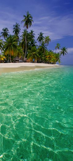 The beautiful islands of San Blas, Panama