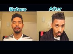 Curly/Wavy Men's Haircut tutorial - How to style black hair + SHAVE - http://www.2015hairstyle.com/men-hairstyle-videos/curlywavy-mens-haircut-tutorial-how-to-style-black-hair-shave.html