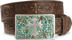 Nocona Cross Buckle Leather Belt    5.0Read all 6 review(s)        Item # 258J39      $39.00