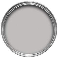 Dulux Bathroom Plus Soft Sheen Paint Chic Shadow Paint Stain, Grey Paint, Gloss Paint, Dulux Chic Shadow, Dulux Timeless, Period Color, Pots, Eggshell Paint, Room Colors
