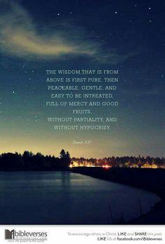 James 3::17  wisdom !!