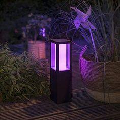 Philips 915005766501 Hue Outdoor Impress Low gar Volt Base Kit E günstig kaufen Luminaire Led, Philips Hue, Starter Set, Kit, Aluminium, Lava Lamp, Table Lamp, Colors
