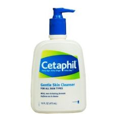 #5: Cetaphil Gentle Skin Cleanser, For all skin types, 16-Ounce Bottles (Pack of 2)
