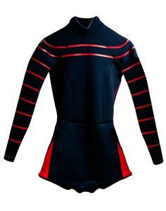Cynthia Rowley - Resort 2014 Wetsuit in Red 17dd64657