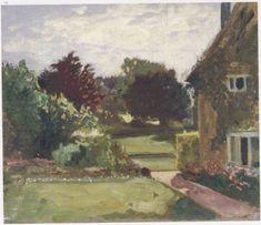"Winston Churchill ~ ""House and Garden at Hoe Farm"""