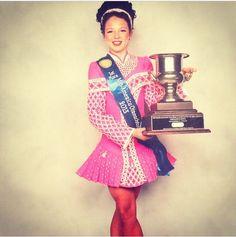 Love this all pink solo costume. Irish dance