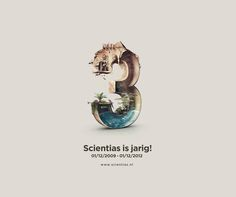 3rd Anniversary by Kevin Roodhorst, via Behance