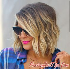 For getting a fresh new look, here are the hottest bob hair inspirations. Latest most popular bob hairstyles for you to try. Bob hairstyles really look amazing with especially ombre color effects, and the look below is no exception to that. Love Hair, Great Hair, Gorgeous Hair, Corte Y Color, Hair Today, Hair Dos, Pretty Hairstyles, Hairstyle Ideas, Wedding Hairstyle