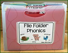 File Folder Phonics for oi and oy - Make Take & Teach Sorting Activities, Teaching Activities, Educational Activities, Grade 1 Reading, Guided Reading, Phonics Games Online, Phonics Centers, Emergent Literacy, 2nd Grade Ela