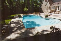 inground swimming pools | inground pools luxury pools oakland county mi orchard lake image by ...