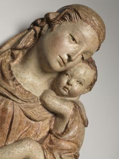 circle of Lorenzo Ghiberti (Italian, polychromed terracotta… Lorenzo Ghiberti, Cleveland Museum Of Art, Madonna And Child, Modern History, Renaissance Art, Florence Italy, Middle Ages, Art Journals, 17th Century