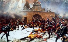Assault on the cemetery at Leuthen 1757
