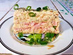 "Claire Au Matcha: La Terrine de Saumon ""épate belle-mère"" Matcha, Summer Recipes, Tuna, Entrees, Food And Drink, Fish, Meat, Ajouter, Simple"