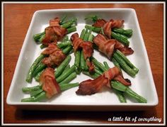 a little bit of everything: Recipe: Green Bean Bundles