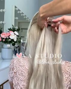 For more braid video tutorials just visit our website! For more braid video tutorials just visit our website! Pretty Hairstyles, Girl Hairstyles, Braided Hairstyles, Wedding Hairstyles, 1950s Hairstyles, Curly Hair Styles, Natural Hair Styles, Hair Videos, Braid Styles
