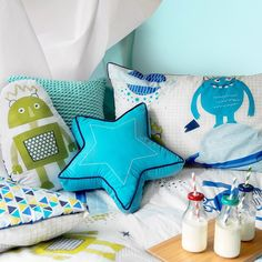 Homewares by us… Creativity by you! These sleepover essentials are available in store and online. #TargetHome #Monsters #Spaceships #Robots #KidsBedroom #Sleepover