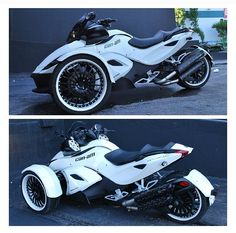 spyder can am Can Am Spyder, Power Bike, Reverse Trike, Trike Motorcycle, Harley Davison, Lady Biker, Super Bikes, Bike Design, Future Car