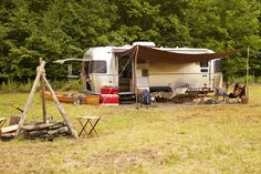 Traveling and camping with our home on wheels.