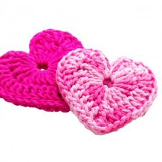 hearts...i think ive pinned a ton of crocheted hearts but i keep finding ones I like better then the last