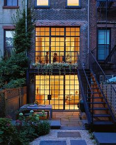 Our friends @themodelinteriors have a great page dedicated to interior design and architecture, check them out! __________  Pictured here: Carroll Gardens Townhouse designed by Lang Architecture  __________  #brooklyn #newyork #usa #canada #rich #luxury #luxuryhomes #design #modern #outdoordesign #landscapedesign #landscape #architecture #gta #light #tree #landscapearchitecture #architexture #buildings #archilovers #hardscape #lines #instapic #interiordesign #realestate #building #city…