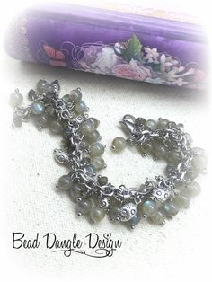"""Handmade Moonstone Beaded Bracelet. Impeccably made """"ONE OF A KIND"""" Beaded Bracelets. Many to choose from different sizes, shapes & colors. 25% Off For First Time Buyers. Free Shipping Available."""
