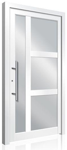 RK540 Contemporary Front Doors, Modern Front Door, Front Door Design, Modern Contemporary, Modern Exterior Doors, Interior And Exterior, Aluminium Front Door, Doors Online, Pivot Doors