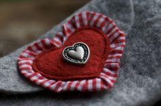 filz:stueck - Rosi - Dirndl Dascherl mit Herz