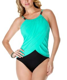Its coming - swimsuit season! Im loving this flattering one piece.