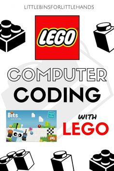 LEGO Computer Coding STEM activities for kids. Build LEGO robots, learn about computer coding, and make a computer free coding game all with LEGO! Hands on technology activities for kindergarten and grade school kids. Lego For Kids, Stem For Kids, Science For Kids, Life Science, Earth Science, Lego Activities, Kindergarten Activities, Computer Activities For Kids, Computer Science Projects