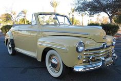 KARATE KID CAR...1948 Ford Super Deluxe Convertible.