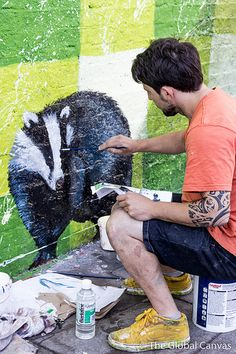 Graffiti Art Wall Freedom Of Expression | pinned by Serafini Amelia| Martin Ron WIP in London, UK