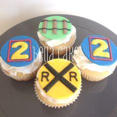 Thomas the Train cupcakes Bella Cakes