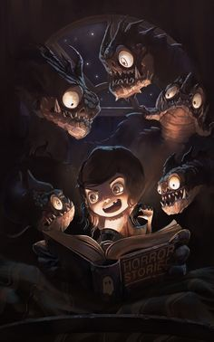 Fairy tales? haha, please... by Alvaro Cardozo | Illustration | 2D | CGSociety