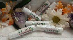 Stawberry Mint Lip Saver lip balm by MarozniasAdornments on Etsy