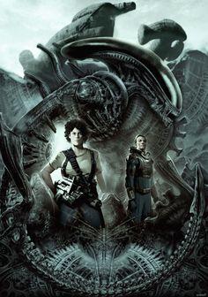 Alien Day Entry (20th Century Fox Chile) by Gonzalo Ordóñez Arias aka Genzoman
