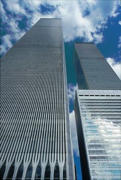 Trade Centre, World Trade Center, New York City Buildings, September 11, Towers, Cute Stickers, Manhattan, Skyscraper, 1970s
