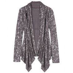 Velvet Sequined Jersey Cardigan ($194) ❤ liked on Polyvore featuring tops, cardigans, jackets, sweaters, outerwear, jersey knit tops, jersey tops, sequin cardigan, purple sequin top and jersey cardigan
