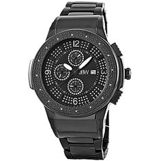 96ec5decf35 JBW Men's JB-6101-G Saxon Multifunction Diamond Watch by JBW -- Awesome  products selected by Anna Churchill