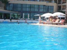 Poolside at the 5 star Grecian Park Hotel, Protaras, Cyprus