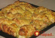 Výborné jedlo - super rýchle a super chutné. Tento recept robím v mnohých obmenách - z rôznymi koreninami, pridávam aj šampiňóny a bylinky, ktoré mám práve poruke. Ak nemáte šľahačku, dajte obyčajnú smotanu na varenie. Cooking Light, 4 Ingredients, Lasagna, Macaroni And Cheese, Food And Drink, Cooking Recipes, Treats, Snacks, Chicken